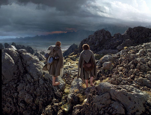 I'll be back here with Frodo
