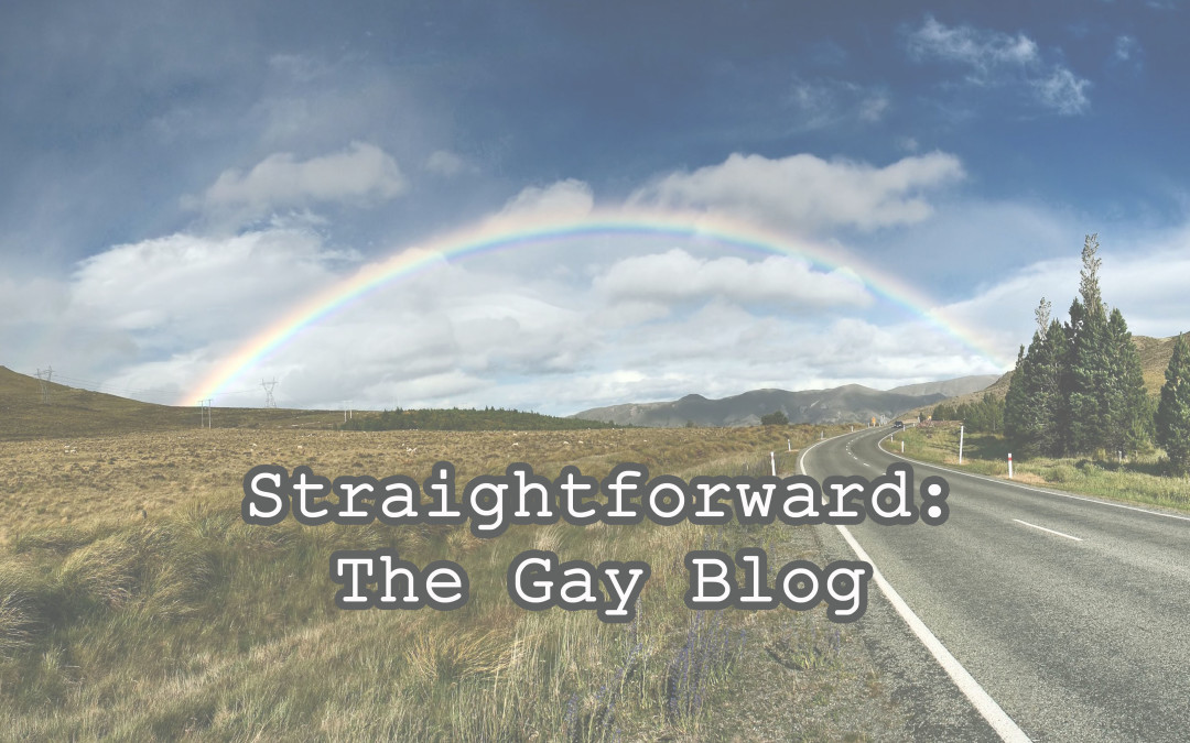 Straightforward: The Gay Blog